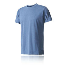 Adidas Freelift 1 Mens Blue Short Sleeve Crew Neck Training T Shirt Tee Top