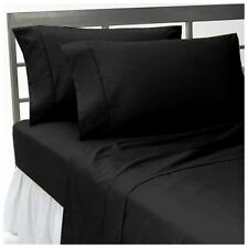 King Size  1000 Thread Count Egyptian Cotton Luxury Bedding Collection Black