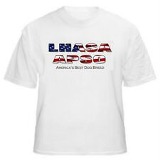 Lhasa Apso - America's Best Dog Breed T-Shirt - Sizes Small through 5XL