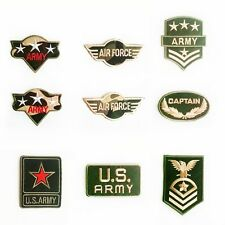 Military Theme Sew Iron On Embroidered Patch Garment Clothes Applique Crafts DIY