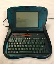 Apple Newton eMate 300 Laptop Computer with Stylus - NO Power Adapter! Works!