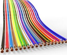 AUPROTEC 10m automotive 1.5 mm² thinwall electrical auto cable wire 31 colours
