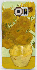 Sunflowers by Vincent Van Gogh Hard Case Cover Coque Skin For All Phone Models