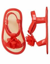 NWT Gymboree Gazebo Party Flower Crib Shoes Sandals Baby Girl Infant 2,4