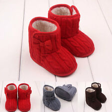 0-12 months Lovely Toddler Booties Girls Soft Sole Baby Boots Crib Infant Shoes