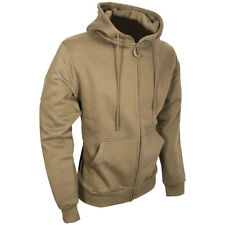 Viper Tactical Mens Hoodie Military Gym Jacket Zipped Running Sweatshirt Coyote