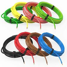 AUPROTEC 1m-20m automotive 4.0 mm² thinwall electrical auto cable wire 8 colours