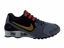 NEW MENS NIKE SHOX AVENUE RUNNING SHOES TRAINERS COOL GREY / METALLIC GOLD / MAX
