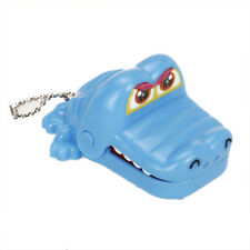Crocodile Mouth Dentist Bite Game Toy with Keychain I2Z4