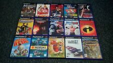Playstation 2/PS2 Games Make Your Own Bundle/Joblot Tested And Complete (9)