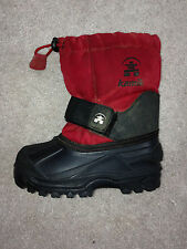 Toddler size 8 Kamik winter Snow Boots With Liners EUC