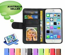CREDIT CARD Wallet id Leather flip Case Stand Cover Apple iPhone 7 6S 6 5 5se 4