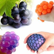 Funny Toys Relief Stress Reliever Grape Ball Autism Mood Squeeze Healthy Toy XC