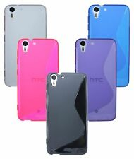 Gel Silicone protector Case Accessories @Cofi for HTC Desire EYE