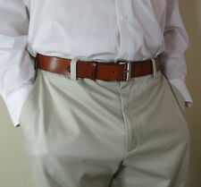"1 1/2"" wide genuine leather belt - handmade - COCHISE"