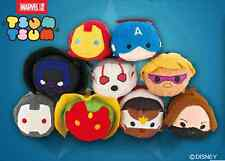 11 Styles Disney TSUM TSUM Marvel The Avengers Mini Plush Toys Dolls With Chain