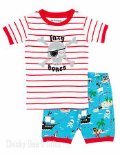 Hatley Kids PJ Pajama Shorts Set TREASURE ISLAND