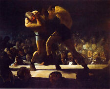 Club Night by George W. Bellows (classic boxing print)