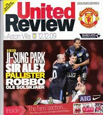Manchester United Home Programmes 2009/2010