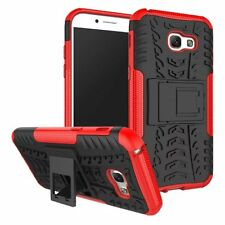 Rugged Dual Layer Stand Protective Skin Case Cover For Samsung Galaxy A5 A7 2017