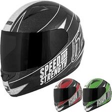 Speed and Strength SS1100 62 Motorsports Motorcycle Street DOT Helmets