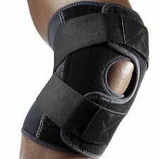 McDavid 4195 Multi Action Knee Cross Straps Compression Support Wrap Black Large