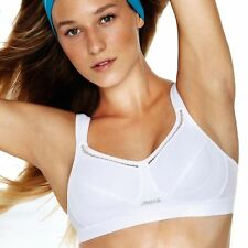 Shock Absorber White 'Active Classic Support' Non-Wired Non-Padded Sports Bra