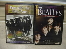 Lot of 2 The Beatles DVD's, The Beatles Unauthorized, Fun with the Fab 4
