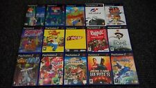 Playstation 2/PS2 Games Make Your Own Bundle/Joblot Tested And Complete (12)