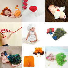 Fashion Newborn Baby Girls Boys Costume Photo Photography Prop Outfits Peachy