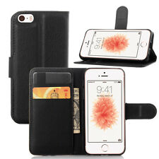 Iphone5S/SE Flip Leather Wallet case,Card Holder Stand Case/Pouch for Apple