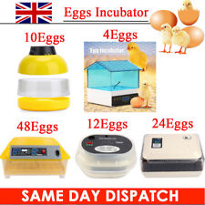 Automatic Egg Turning Incubator Hatcher Poultry Bird Chicken Temperature Control