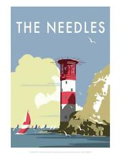 The Needles - Dave Thompson Contemporary Travel Print Art Print by Thompson,