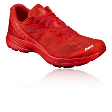 Salomon S-Lab Sonic 2 Unisex Red Trail Running Sports Shoes Trainers Pumps