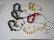 706/746/711/741 GPO TELEPHONES *NEW* CURLY HANDSET CORDS - ALL Colours FREE P&P