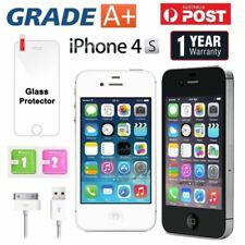 Apple iPhone 4S 64 32 16 8GB Factory Unlocked Mobile Smartphone Black White AU