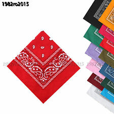 Unisex  Paisley Bandana  Headwear/Hair Band Scarf Neck Wrist Wrap Band Head tie