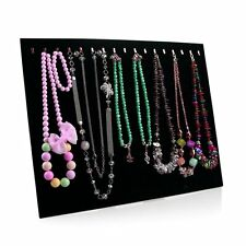 Necklace Jewelry Pendant Chain Show Display Holder Stand Neck Velvet Easel RX