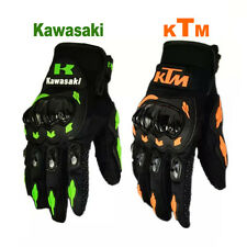 Gloves Motorcycle Ktm Racing Bike Motocross Leather Cycling Offroad Moto Carbon