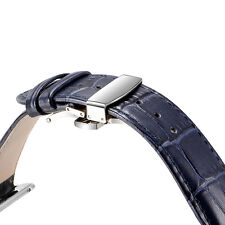 OATSBASF Genuine Leather Wristband Strap for Apple Watch 42mm Series 1 Series 2