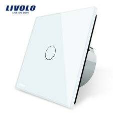 1 Glass Crystal Wall Switch Light Gang 2 Touch 3 Panel Control Way Led Smart