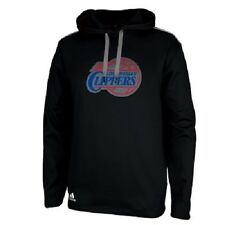 NEW! Adidas Los Angeles Clippers Tip-Off Pullover Hoodie - Black NWT