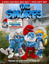 The Smurfs/The Smurfs: Christmas Carol (Blu-ray/DVD, 2011, 3-Disc Set, ] Blu-ray