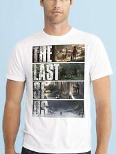 THE LAST OF US VIDEOGAME SURVIVAL HORROR ZOMBIE NAUGHTY DOG PS3 T SHIRT