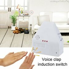 110V/220V Electronic Gadget Hand Light Switches Clapper Sound Activated WS