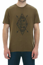 New Barkers Mens T-Shirts Levi's Commuter Drop Hem Tee MOSS