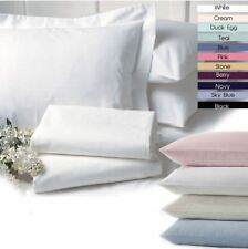 NEW 100% EGYPTIAN COTTON HOUSEWIFE PILLOW CASES SHEETS 200 THREAD COUNT