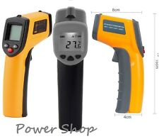 Infrared Thermometer Non-Contact Gun Laser IR Point Digital LCD Temperature UK