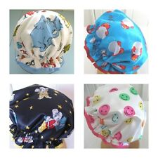 children designer shower cap Australian handmade waterproof 1 to 10 years old