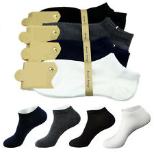 4-8 Pairs Mens Business Ankle Socks No Show Casual Sport Cotton Socks Low Cut